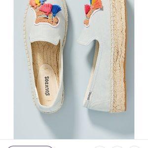 Soludos Shoes - NIB Soludos Anthropologie Camel Espadrilles Flats